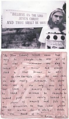 Kurt Cobain was tragically beautiful