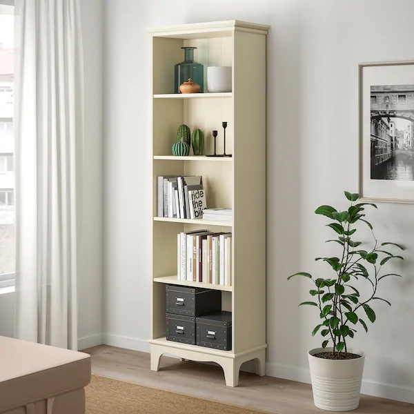 Lommarp Bookcase Light Beige 25 5 8x78 3 8 Ikea In 2020 Bookcase Ikea Bookcase Movable Shelf