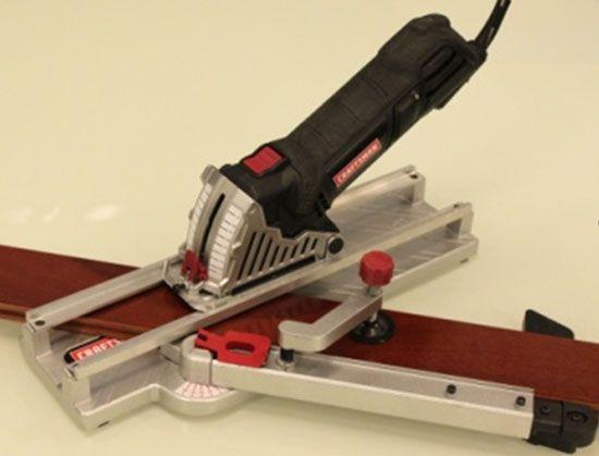 Craftsman Trak Cut Mini Circular Saw with Miter Cutting Guide