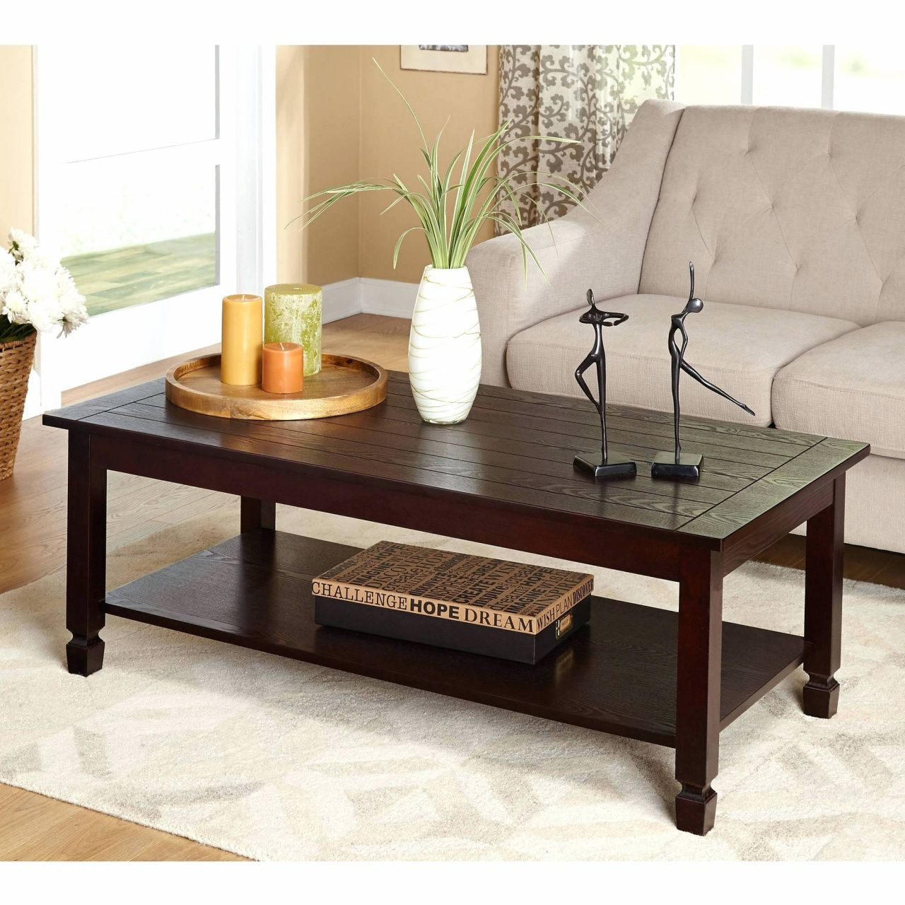 Furniture Living Room Tables Sofa Tables Espresso