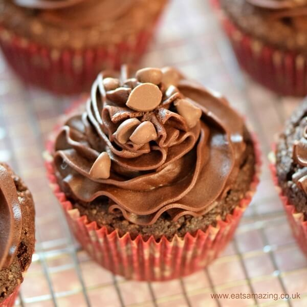 quick easy chocolate cupcakes