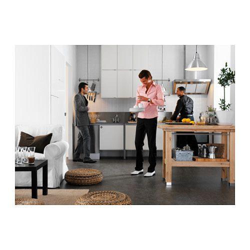 GROLAND Arbetsbänk IKEA Ger extra förvarings-, avställnings- och ...