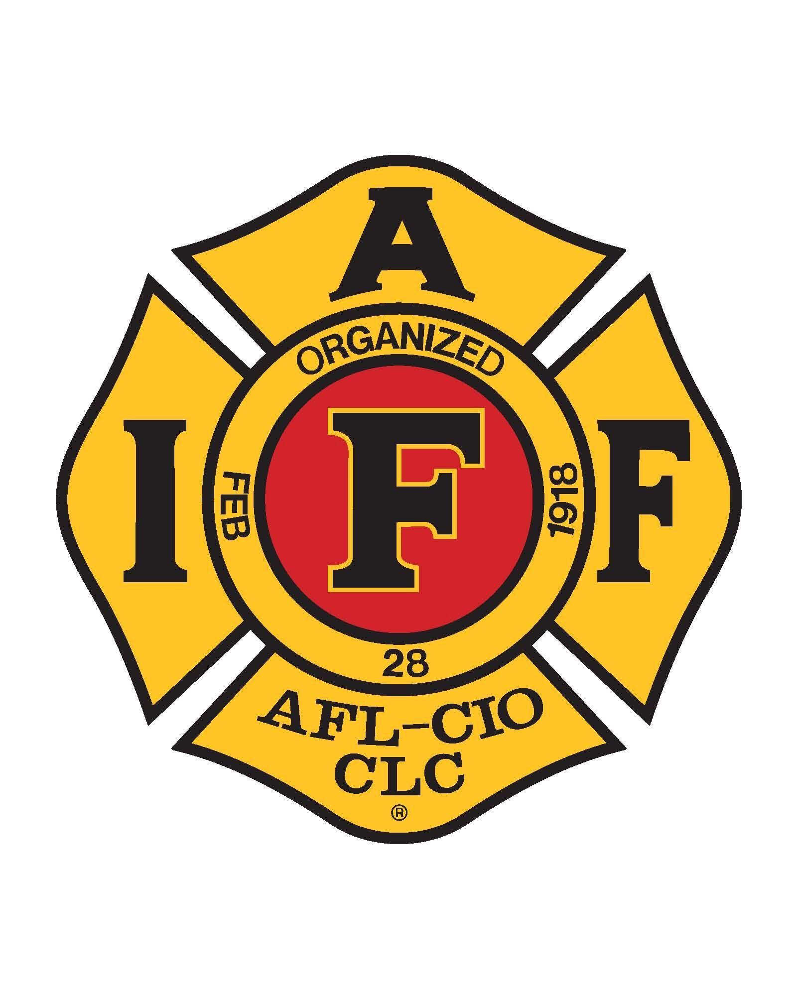 IAFF Logo (Red.jpeg Iaff logo, Iaff, Logos