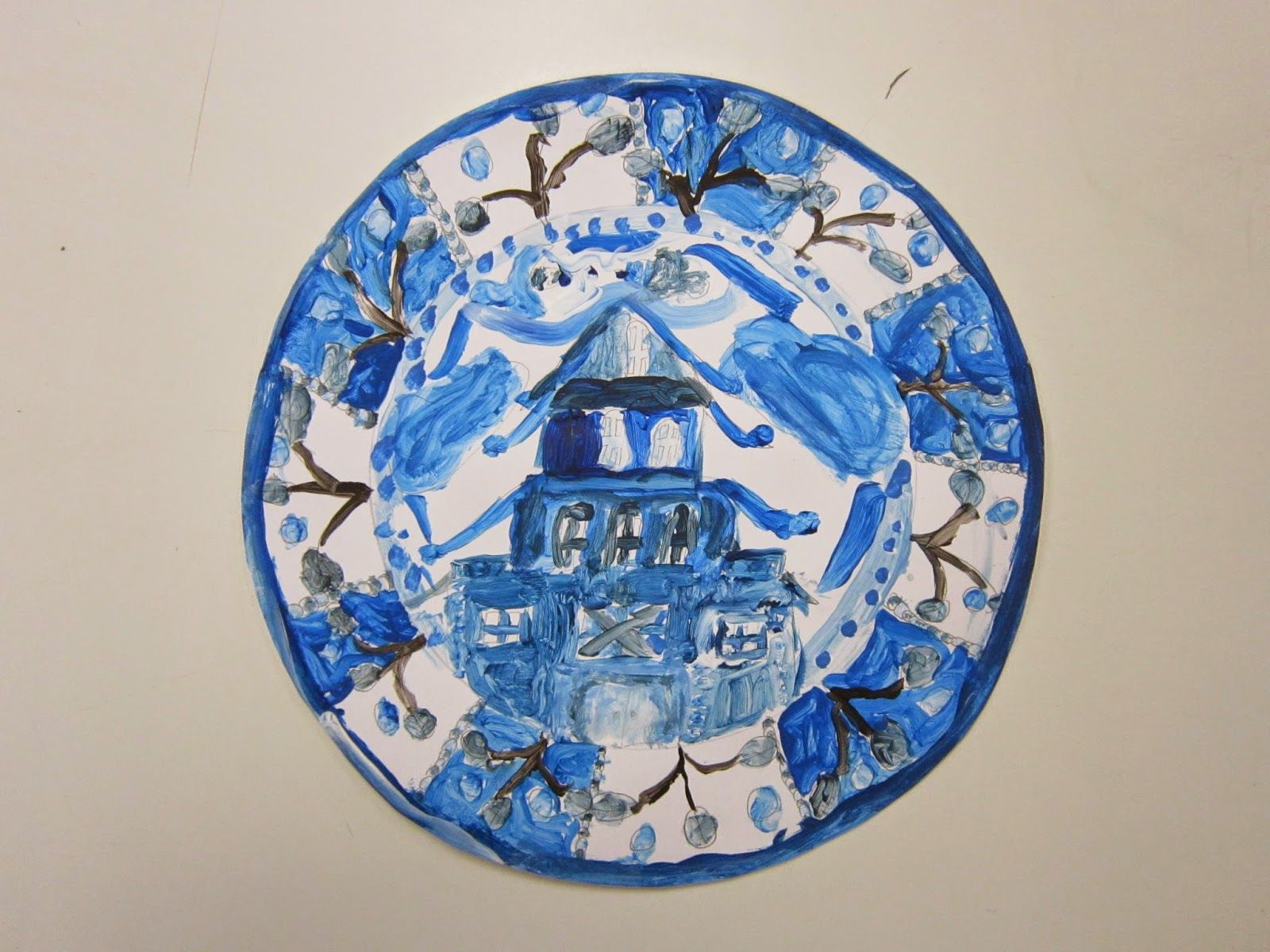 Blue Willow In 2nd Grade Asian Art Projects Elementary Art