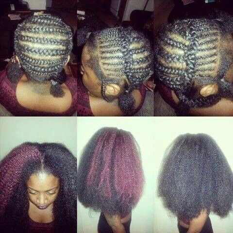 These Are Actually Crochet Braids With Marley Braid Hair