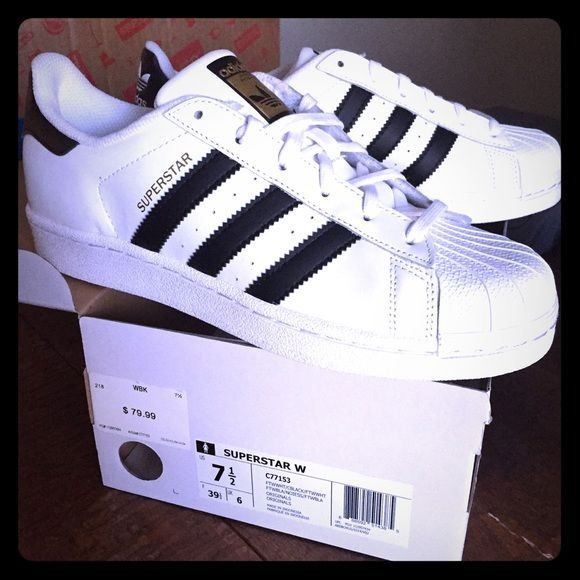 Adidas Superstar - Women's Size 7.5 Brand new with original box. Never  worn. Selling