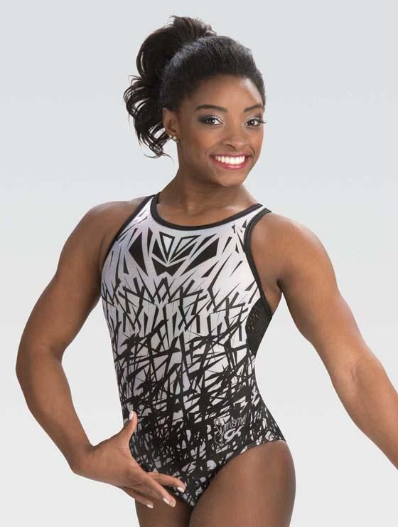 Black   White Doodle Leotard – GK Elite Sportswear  90e38e9990b