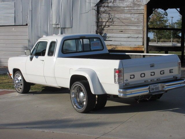 1993 dodge d350 extended cab dually 1st gen cummins diesel for sale photos technical. Black Bedroom Furniture Sets. Home Design Ideas