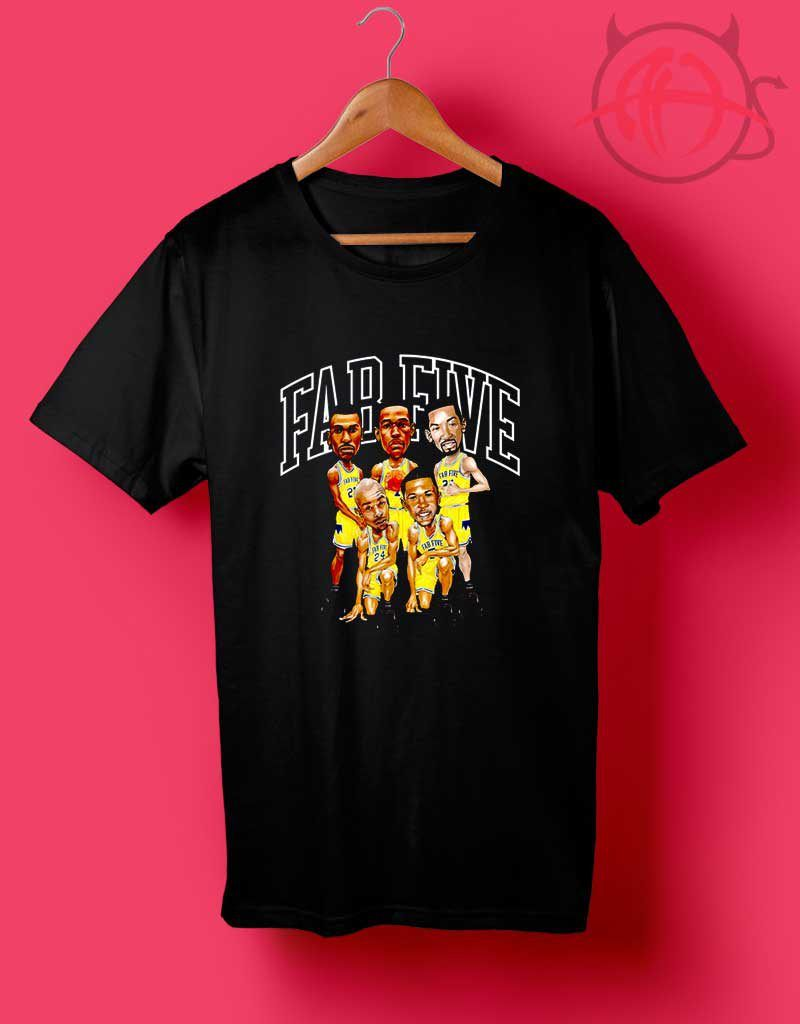 Trend Fashion Fab 5 Michigan Wolverine T Shirts Agilenthawking