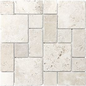 Shop Anatolia Tile Chiaro Natural Stone Mosaic Wall Tile Common 12 In X 12 In Actual Wall Tiles Mosaic Wall Tiles Travertine