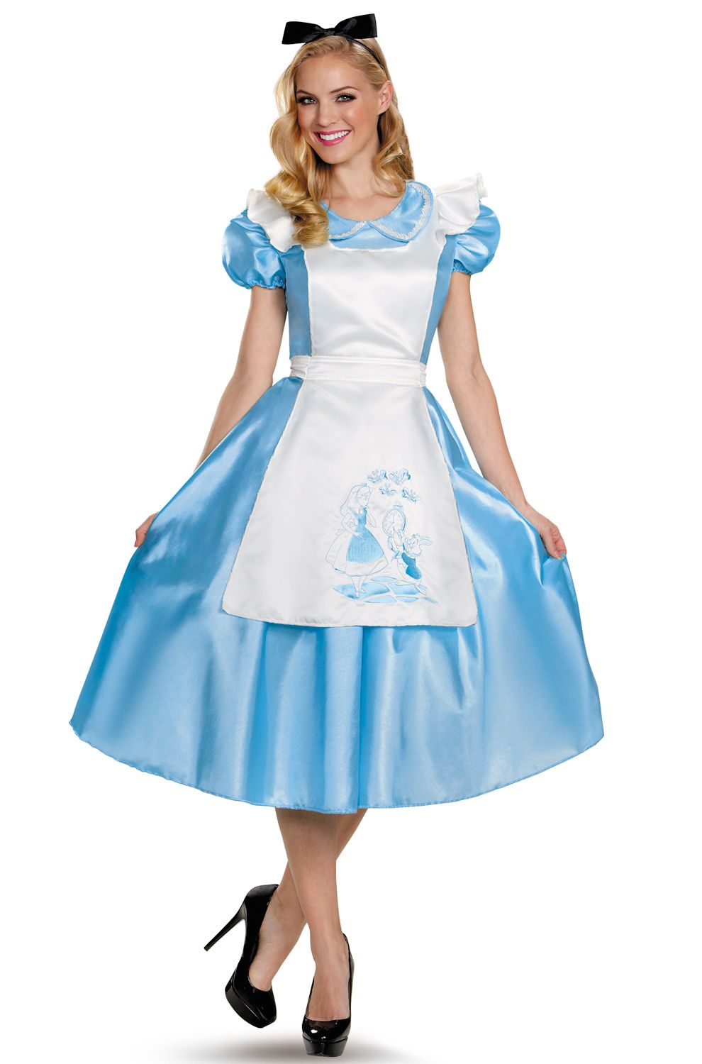 Take A Trip Down The Rabbit Hole With This Lovely Alice In Wonderland  Costume. Modeled After The Original Movie Version, This Costume Is A Must  For Any ...