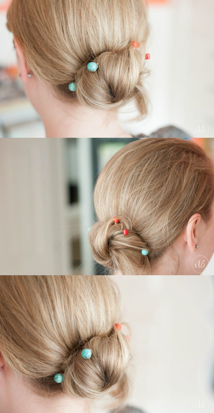 Make Your Own Hairstyle Alluring Diy Beaded Bobby Pins  Bobby Creative And Beads