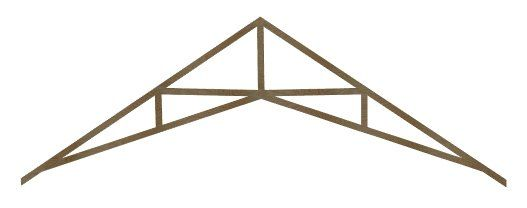 Creating A Vaulted Ceiling And Scissor Trusses Chief Architect Knowledge Base Scissor Truss Roof Truss Design Roof Trusses