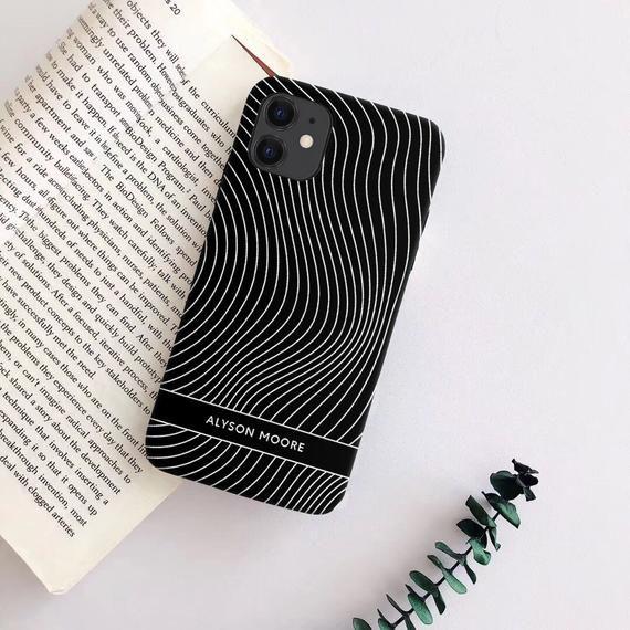 Wavy Lines Samsung Galaxy S10 plus S9 case Note 9 Samsung A50 | Etsy