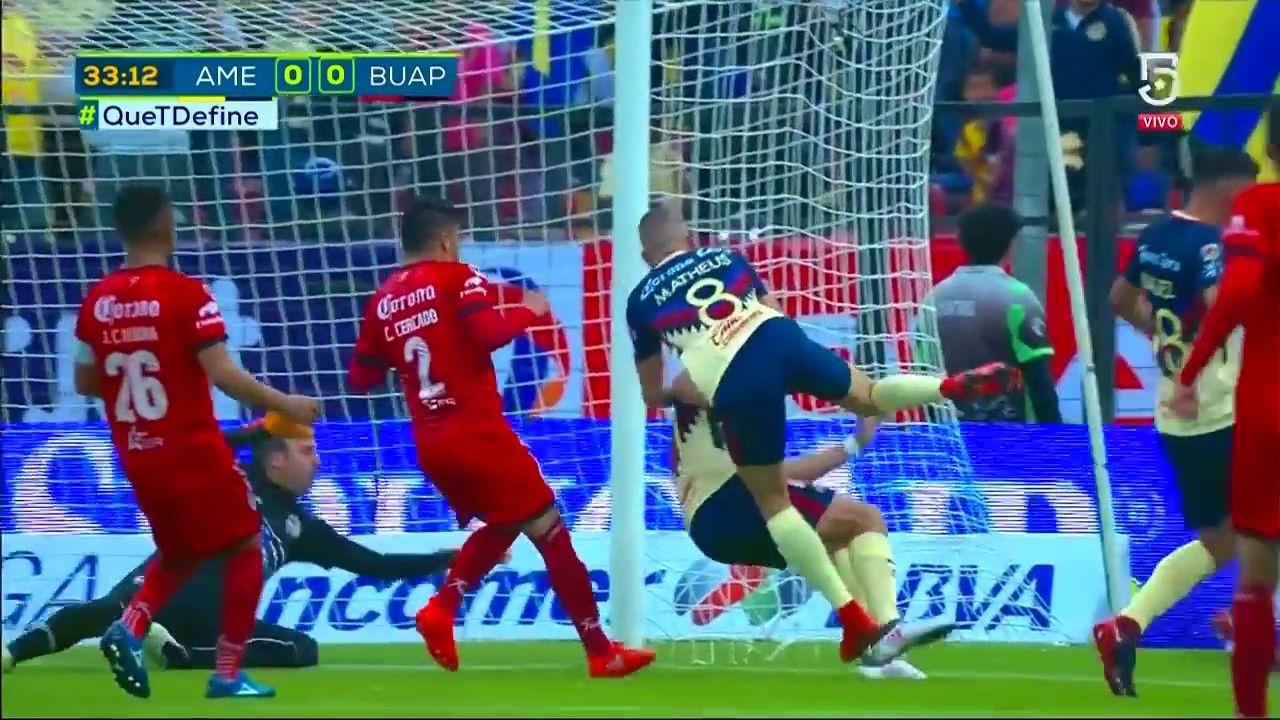 RESUMEN Todos los goles Club América 51 Lobos BUAP J5