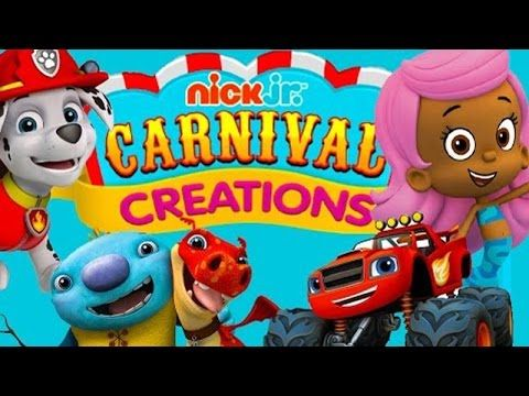 Nick Jr Video Game Carnival Creations Nick Jr Free