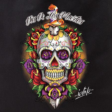 Dia de los muertos skull google search sugar skull for Dia de los muertos mural