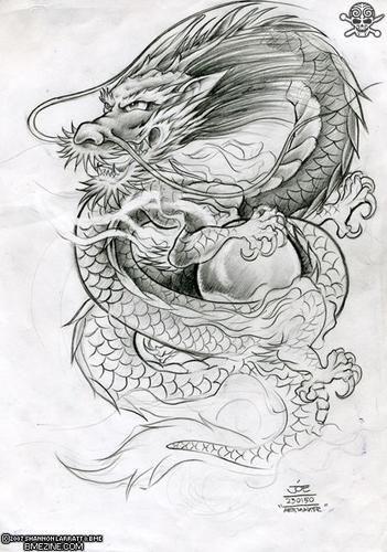 Dragon chino tatuaje buscar con google dragon for Vater japones