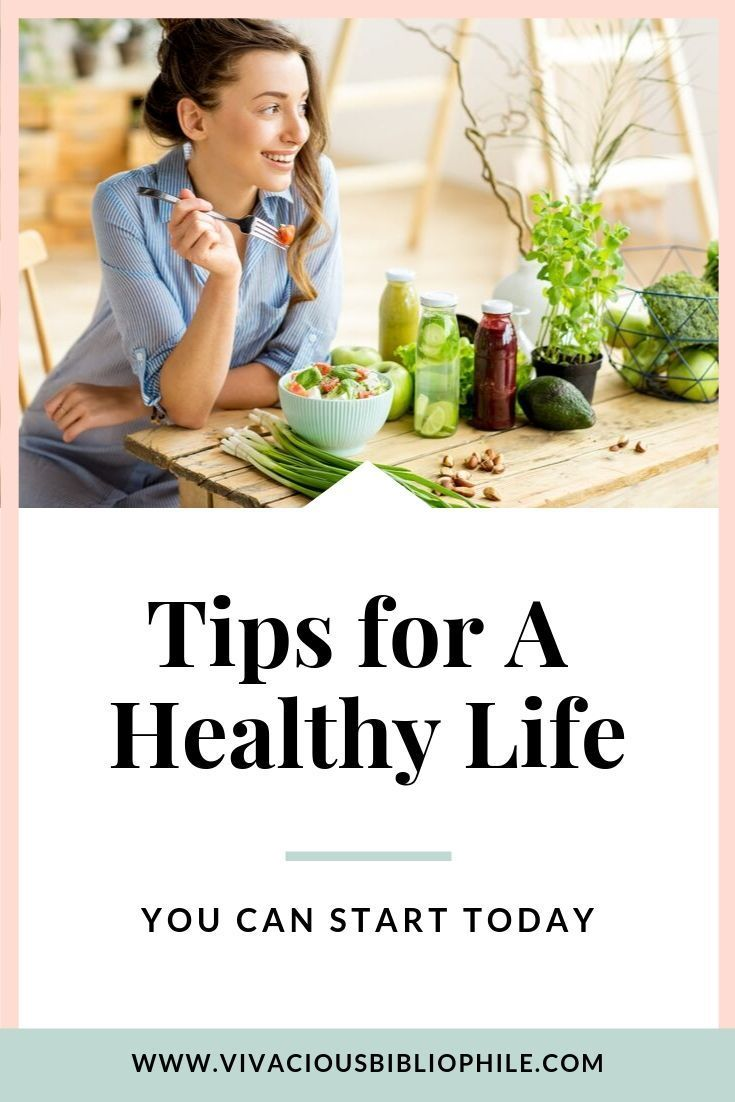 Tips for a Healthy Life you can start TODAY #healthylife #lifestylechange