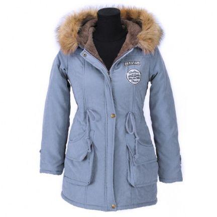 Heerlijk warme halflange winterjas met zachte voering en capuchon met rand  van imitatiebont. LET OP · Hooded CoatsFur ...
