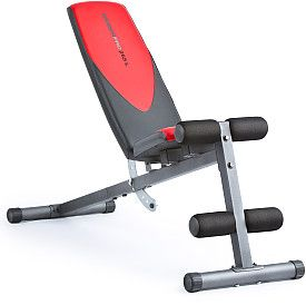 Weider Pro 255 L Exercise Bench Dumbbell Workout Weight Benches No Equipment Workout