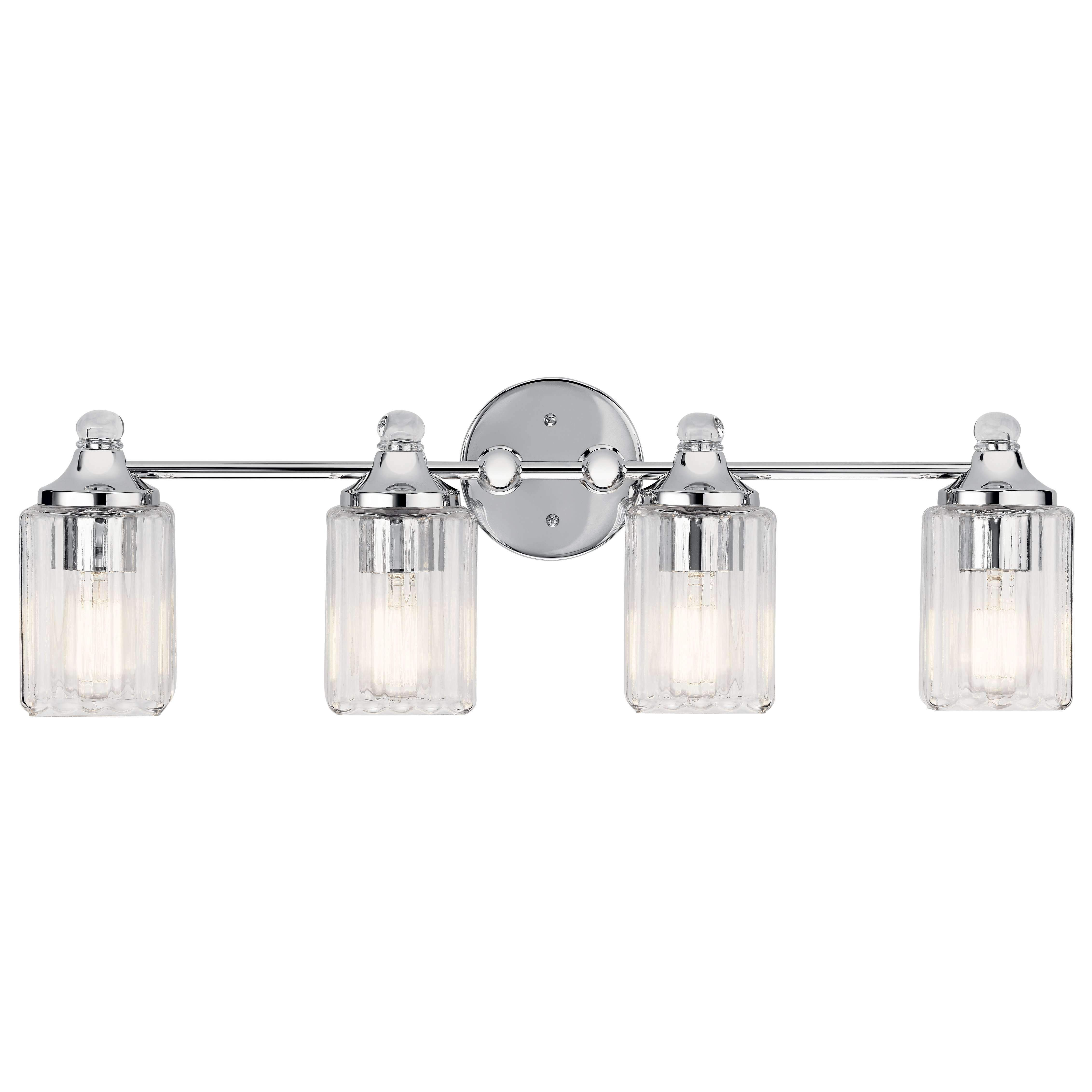 Riviera Bath 4 Light Chrome Vanity Lighting Bathroom Vanity Lighting Bath Vanity Lighting