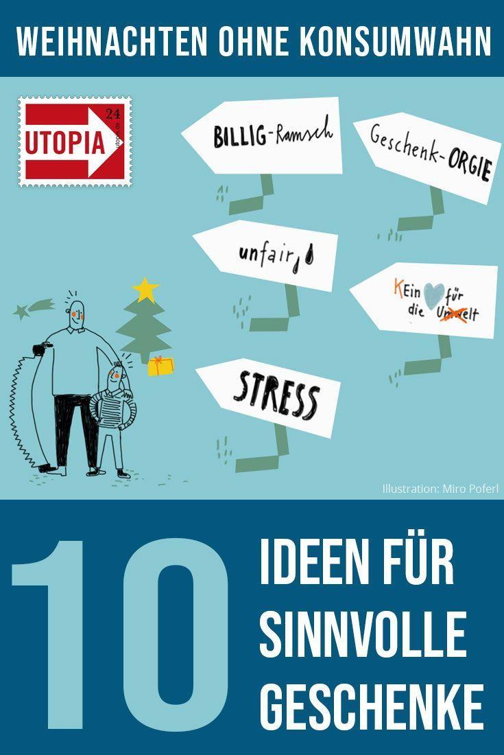 Weihnachten ohne Konsumwahn – sondern mit Sinn - Utopia.de