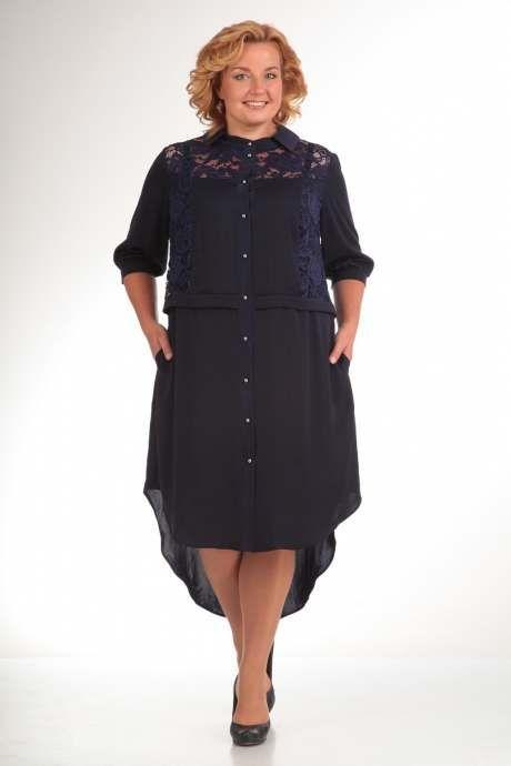 717bac9cdd876c2 Шикарные платья для полных женщин белорусской компании Pretty, осень-зима  2016-2017