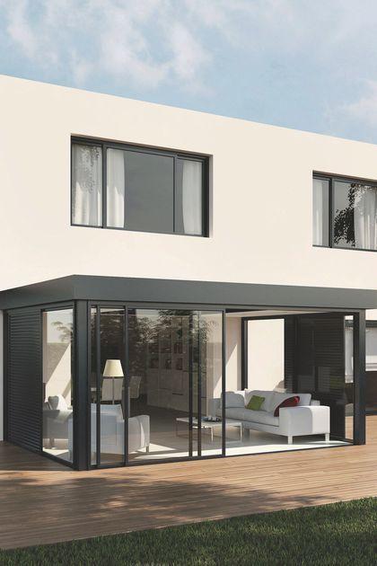 v randa 15 mod les d 39 extension de maison modern house pinterest casas casas modernas y. Black Bedroom Furniture Sets. Home Design Ideas