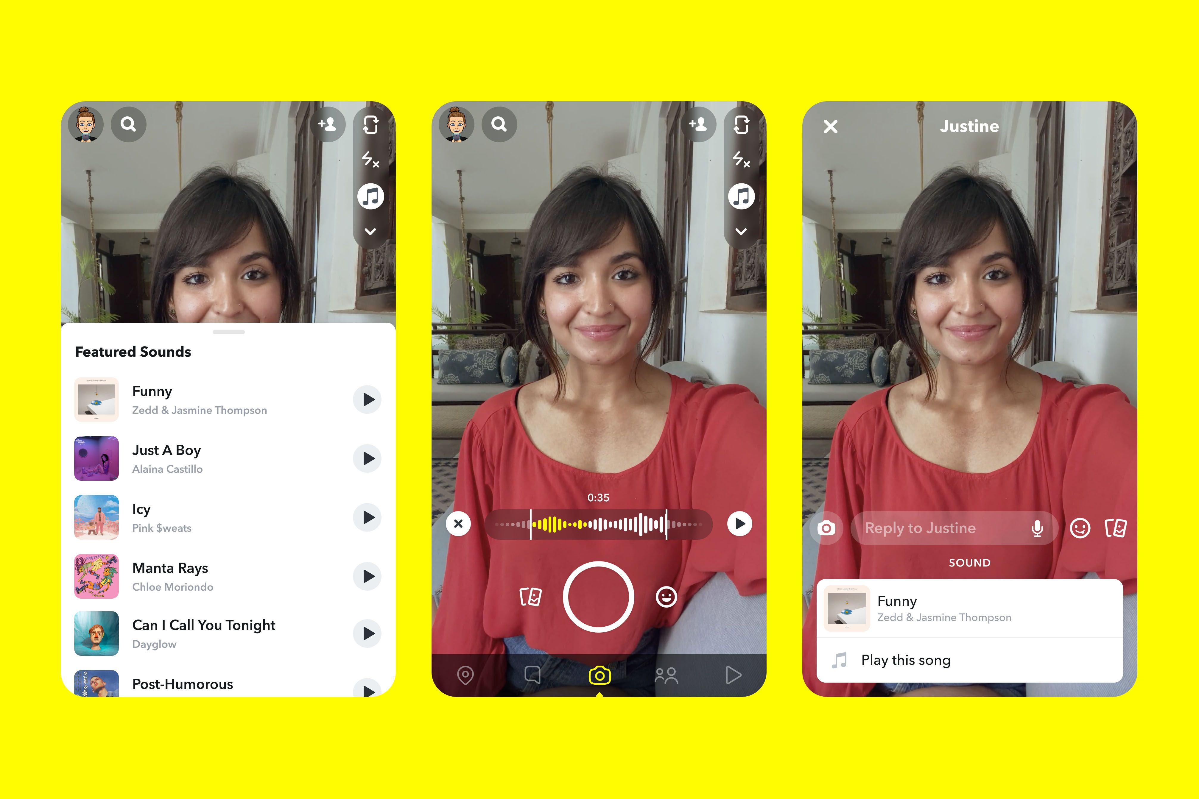 Snapchat Will Soon Let You Add Music To The Videos You Record Making It The Latest Social App To Take On Tiktok By Offering The Music Instagram Plan Snapchat