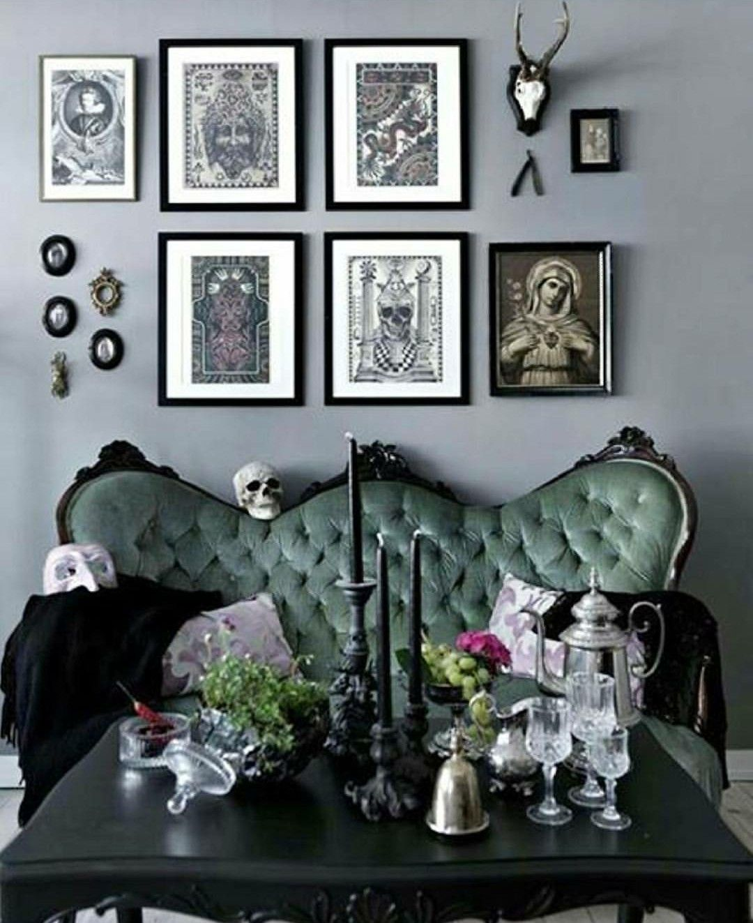 Gothic Lounge | Gothic living rooms, Gothic home decor ...