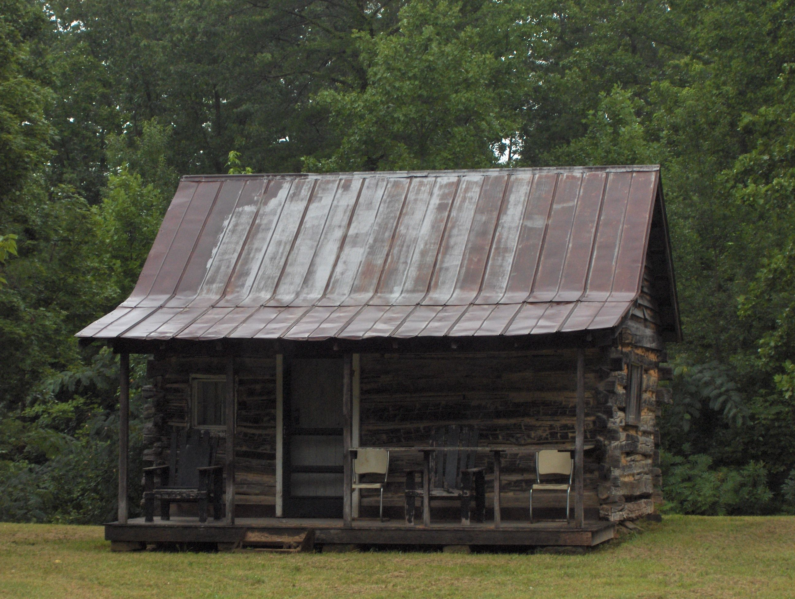 Https Stldesignworld Files Wordpress Com 2009 08 020 Jpg Log Cabin Exterior Cabin Small Log Cabin