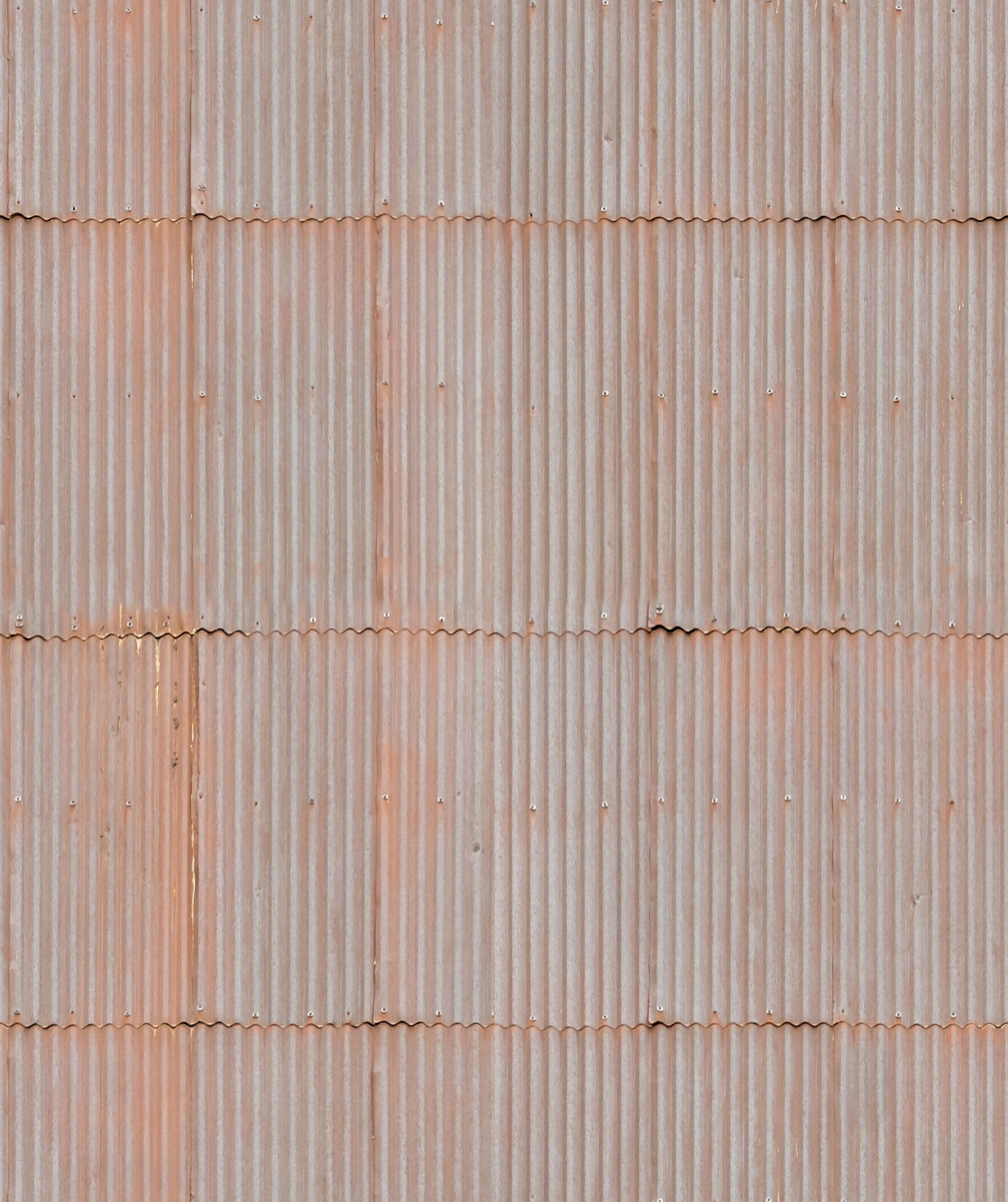 Rusted Tin Roof Seamless Texture Materials Textures
