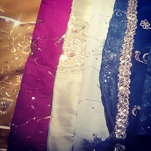 Vintage Sari fabrics