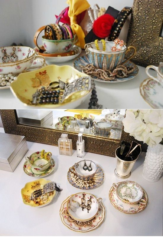 Charmant Awesome Teacup Storage Idea For Jewels