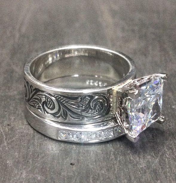 Handmade ring by Matt Litz | Western Wedding | Pinterest | Ring ...