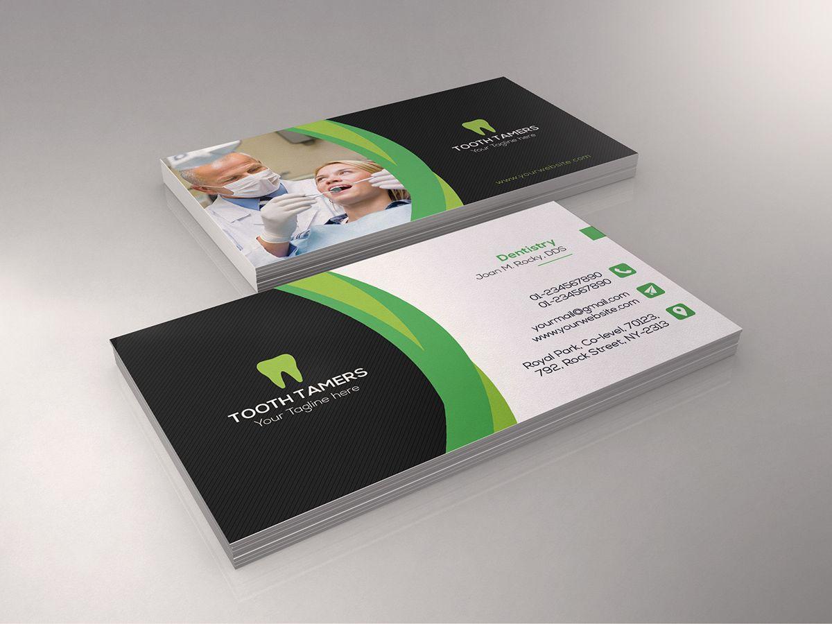 Dental Business Card | Pinterest | Dental business cards, Dental and ...