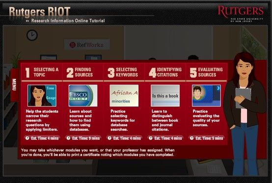 This Rutgers Riot link is a great source for learning how to evaluate sources and quiz yourself!  Check out Module 5! (Skip the beginning and go straight to the menu).