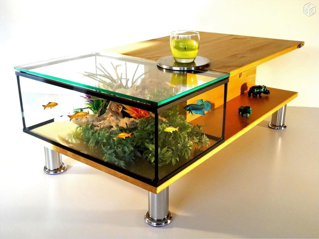 Table Basse Led Aquarium Sans Fil Table Basse Aquarium Table Basse Led Table Basse [ 800 x 1067 Pixel ]