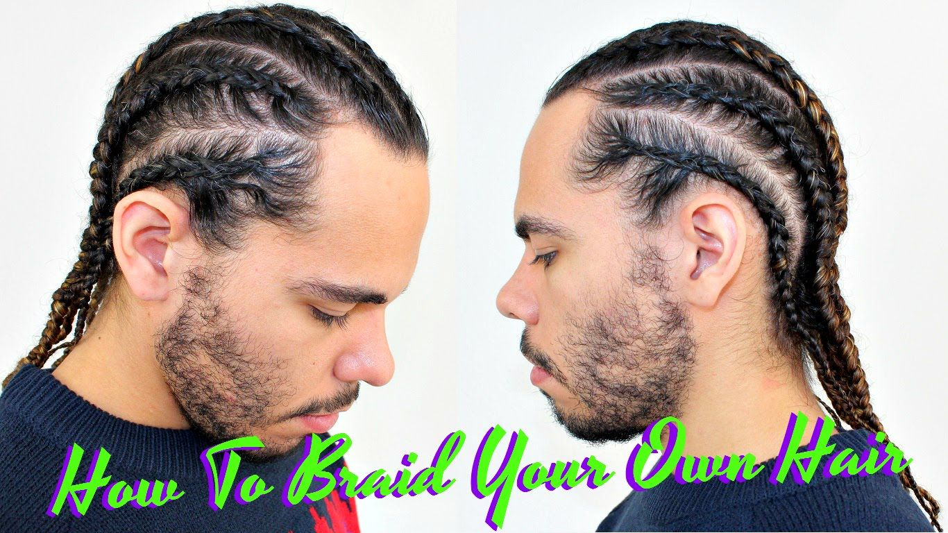 Tutorial How To Braid Cornrow Your Own Hair Protective Style