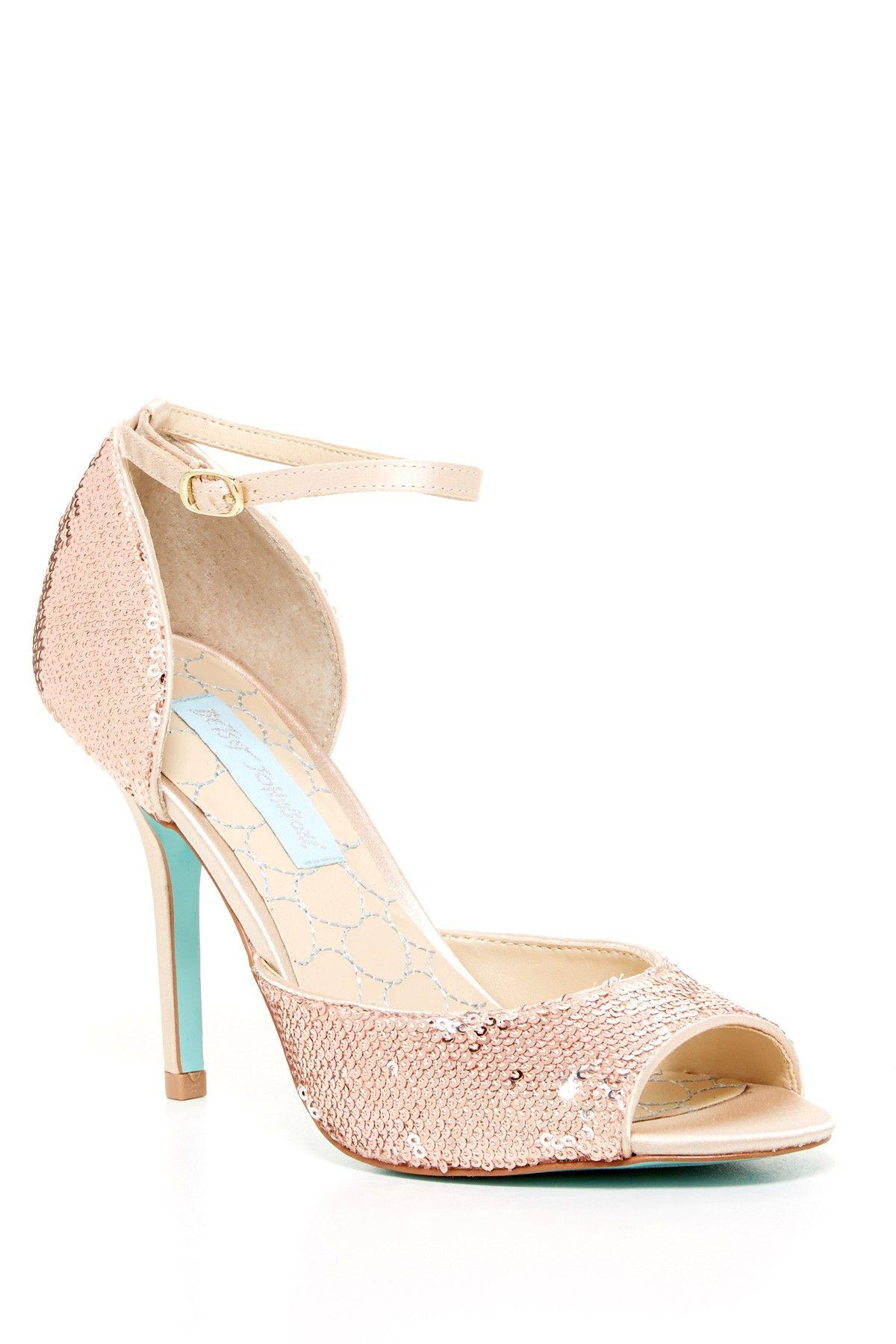 Betsey Johnson Wed High Heel Sandal Wedding high heels