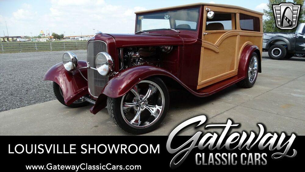 1932 Ford Other Deep Cherry Crystal 1932 Ford Woody Sedan
