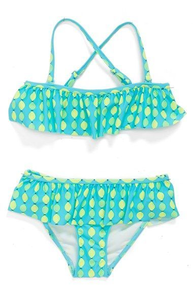 c3ba3c948c1 Tucker + Tate Ruffle Two-Piece Swimsuit (Toddler Girls, Little Girls & Big  Girls) available at #Nordstrom
