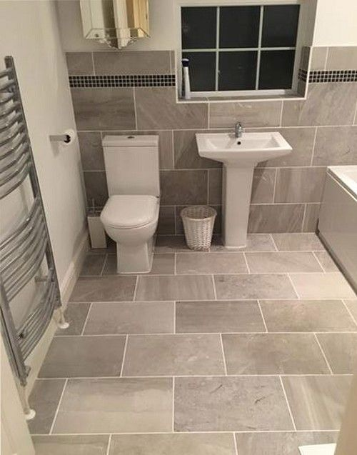 Variato Grey Tile Bathroom Decor Small Bathroom Grey Bathroom Tiles