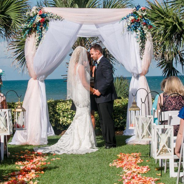 10 Meaningful Touches For Your Ceremony Outdoor Wedding CeremoniesWedding ReceptionsOutdoor WeddingsWedding CeremonyBeach CeremonyExamples