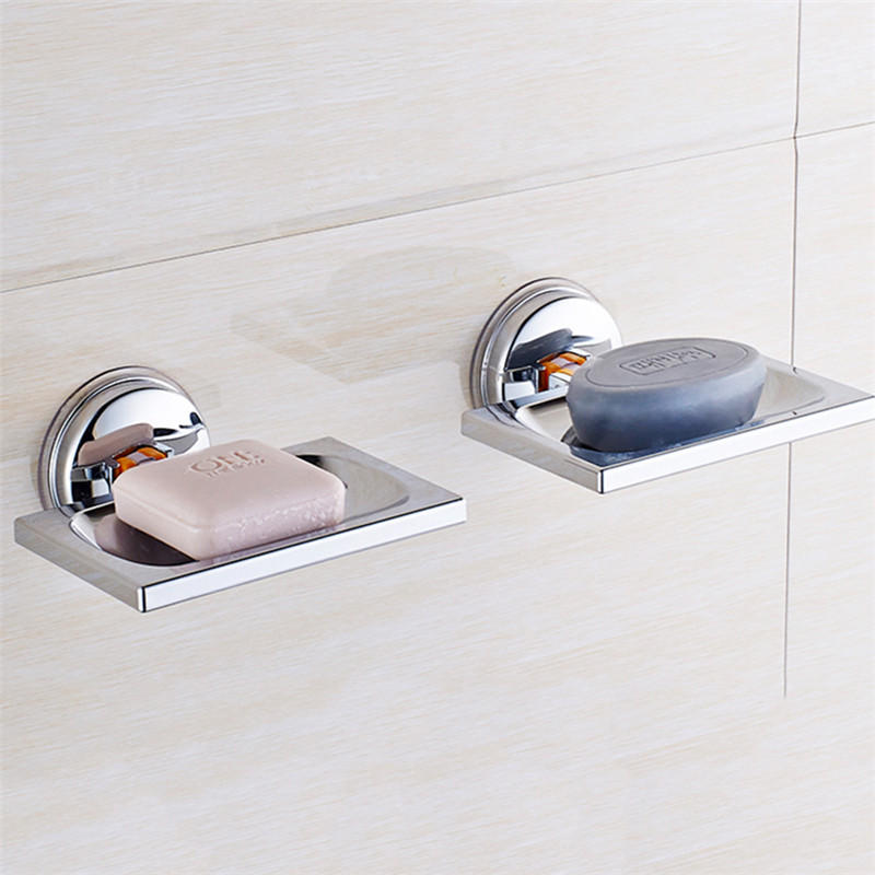 Us 4 65 Chrome Plated Classic Bathroom Shower Sink Soap Dish Holder Basket Suction Cup Hardware Accessories From Tools Industrial Scientific On Banggood Co