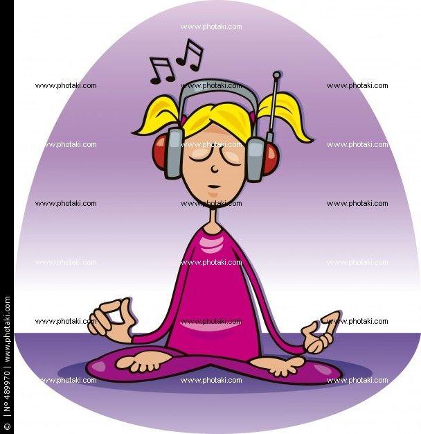 Meditation For Fat People Illustrations