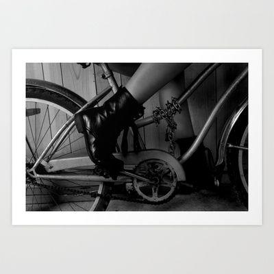 La bici Art Print by Rosa Mendez - $17.68