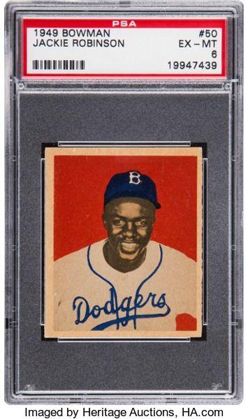 Baseball Cardssingles 1940 1949 1949 Bowman Jackie
