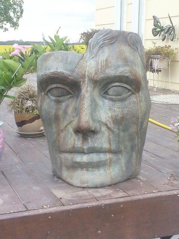 Cement Garden Faces   Cement Face